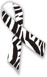 zebra ribbon